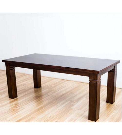 ALLAN TIMBER TOP DINING TABLE
