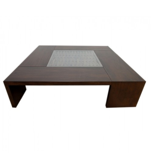 CAPRI Glass Top COFFEE TABLE