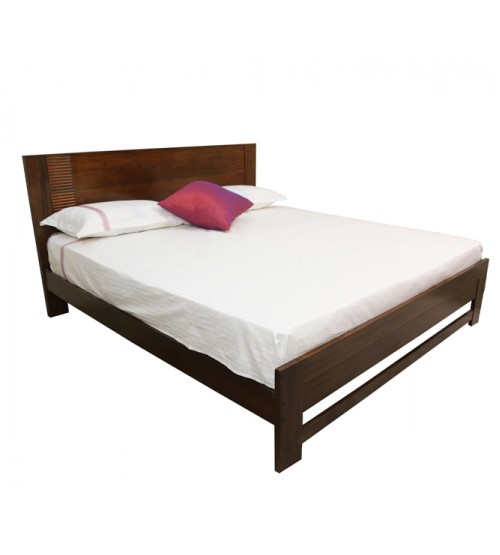 FLUTED DOUBLE BED