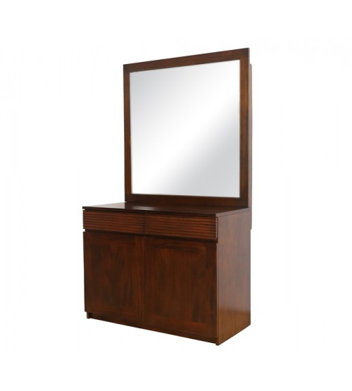 FLUTED DRESSING TABLE