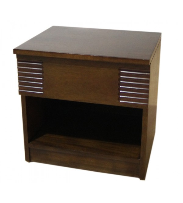 FLUTED BED SIDE CUPBOARD