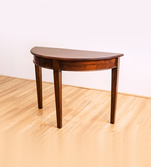 HALF ROUND CONSOLE TABLE