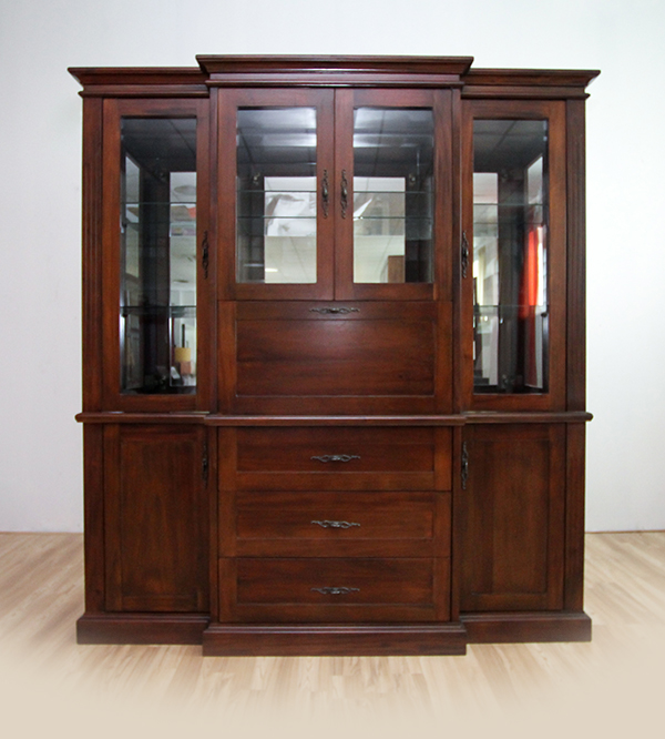 RIO COCKTAIL 4 DOOR  GLASS CABINET